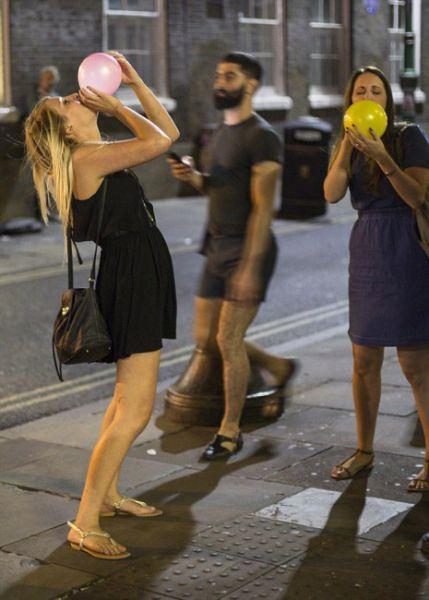 A Strange New Past Time Among British Teens