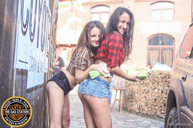 The Fun and Flirtation at a Charity Bikini Car Wash in Ukraine