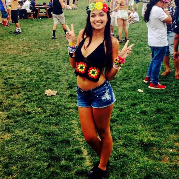 Electric Woman of 2014's Electric Zoo Weekend