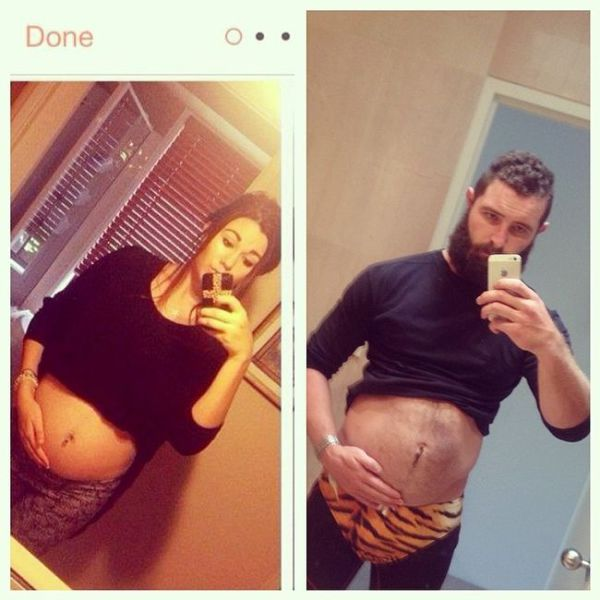 One Guy Recreates Tinder Profile Pics of Girls