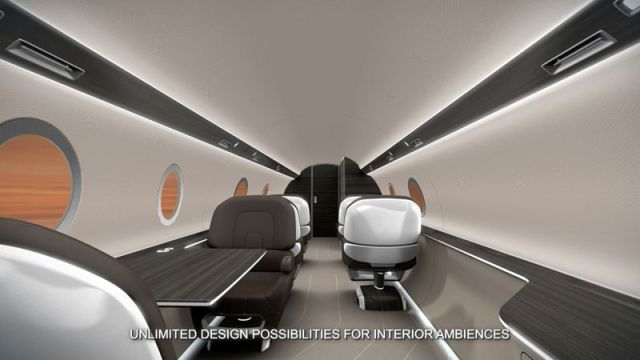 A Windowless Jet Is the Flying Machine of the Future