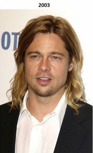 Brad Pitt Over the Years