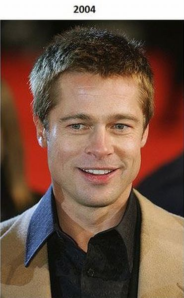Brad Pitt Over the Years