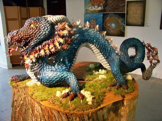 Spectacular Paper Mache Art That Is a True Masterpiece