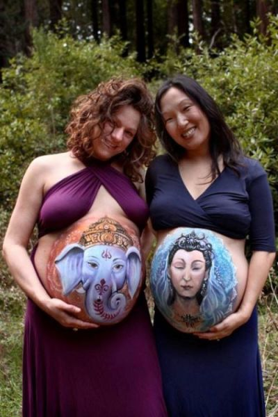 Weird Pregnancy Photos That Are a Bit Cringe-worthy