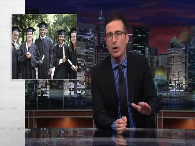 John Oliver's Take on Student Loan Debt