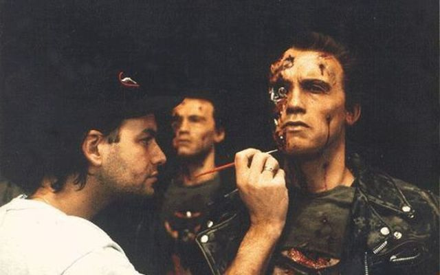 "Backstage Photos from the Making of the ""Terminator"" Films"