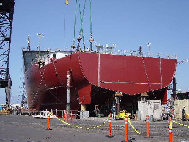 How They Build Supertankers