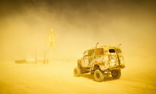 Amazing Photos of the Festival Fun at Burning Man 2014