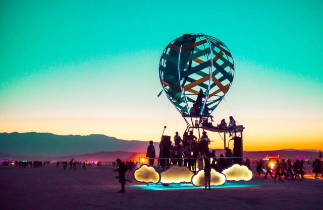 Amazing Photos of the Festival Fun at Burning Man 2014