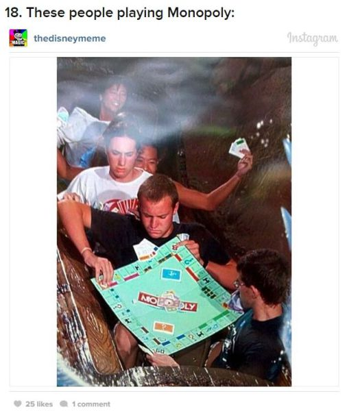 Amusement Park Photo Trolls That Are Totally Epic