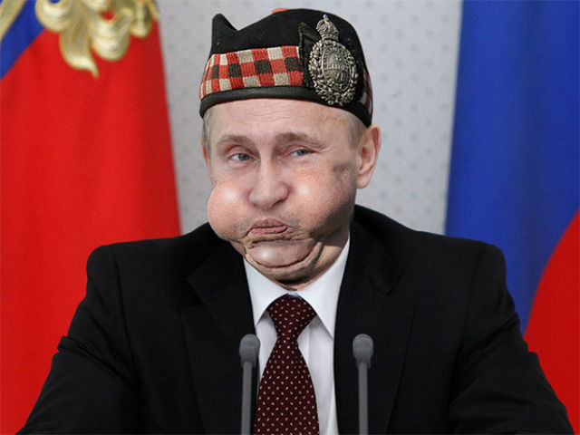 An Amusing Bagpipe Player Photoshop War