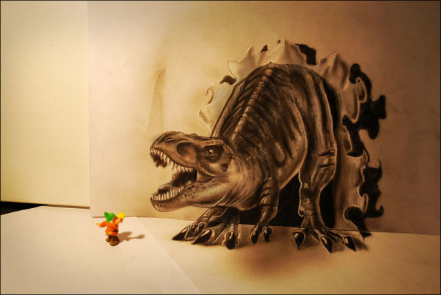 Spectacular 3D Pencil Drawings That Are Mindblowing