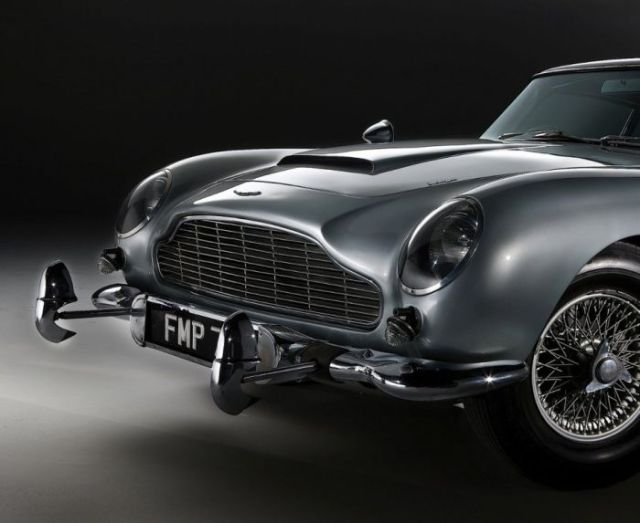 The Hot Car That Was Made Famous by James Bond