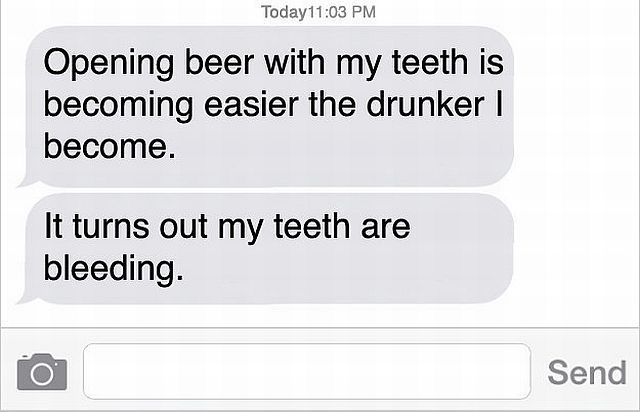 There Is Nothing Worse Than Drunk Texting