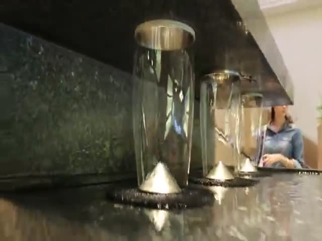 Check Out This Awesome Fountain Spotted in Chicago's Water Tower Place  (VIDEO)