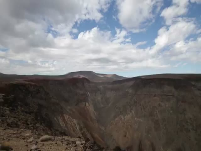 Unexpected Air Show for Campers in Death Valley  (VIDEO)