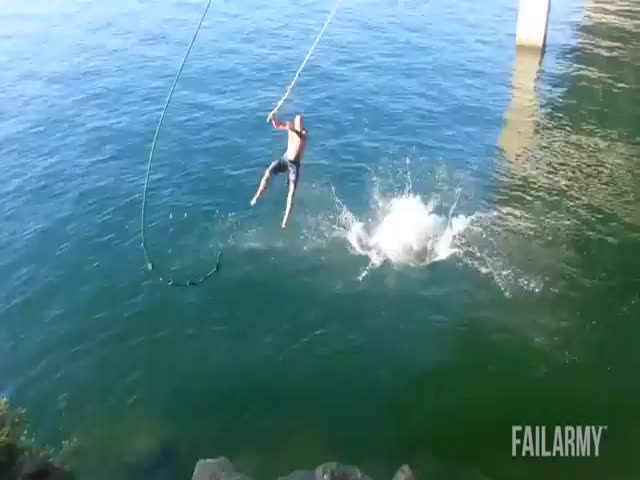 The Ultimate Swings and Slackline Fails Compilation