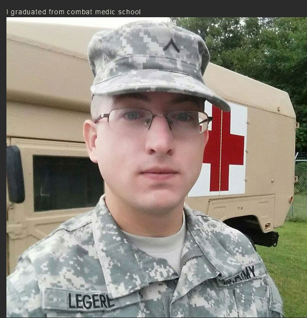 Nerdy Dude Becomes a Strong Military Man!