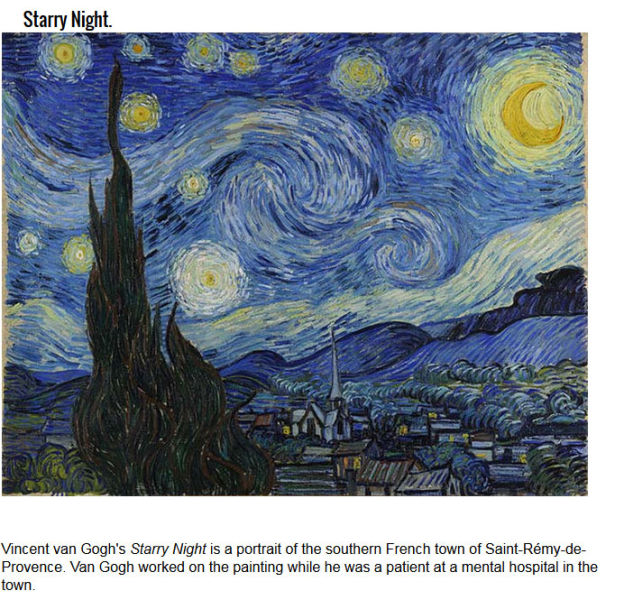 Things You May Not Know about Famous Art