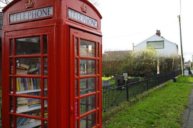 A Novel Use for an Old British Telephone Box