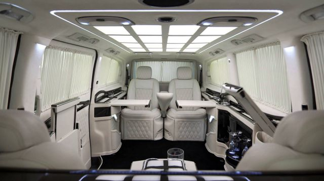 Check Out This Pretty Cool Luxury Mini Van