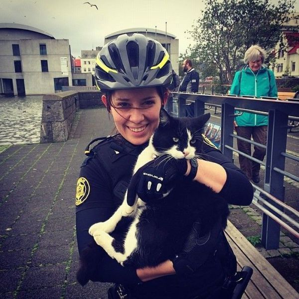 Icelandic Police Have a Very Relaxing Job