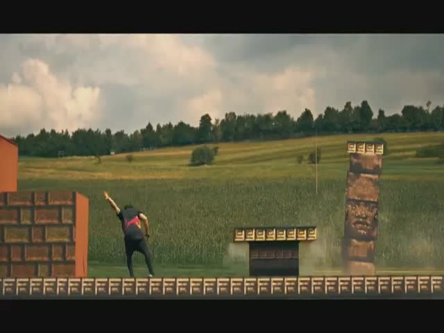 8-bit Video Game Freerunning