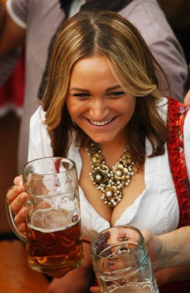 Boobs and Beer Make Oktoberfest the Best