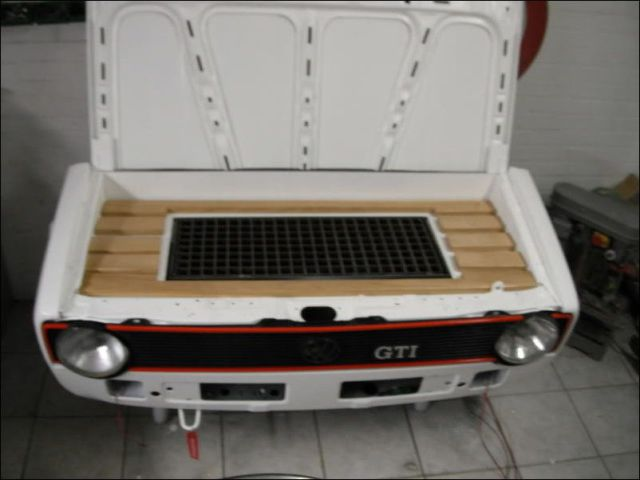 How to Turn an Old Volkswagen into a Stylish Barbecue
