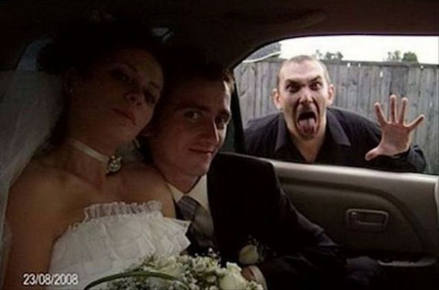 The Best Wedding Photobombs Ever