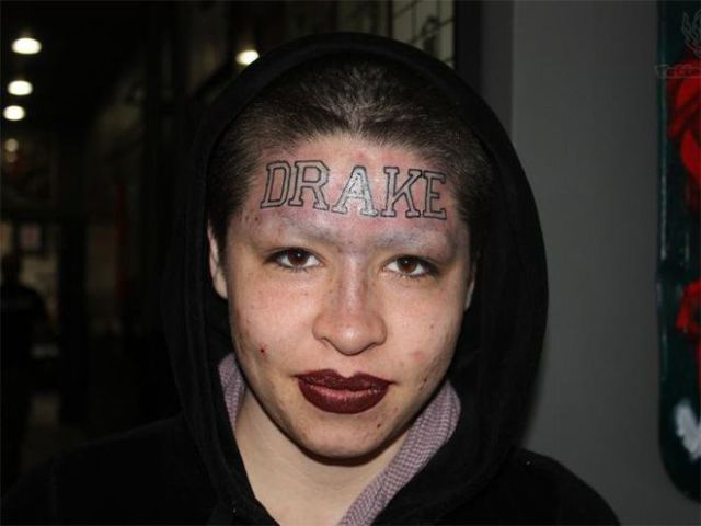 There Is Nothing Good about Face Tattoos (24 pics) - Picture #1 ...