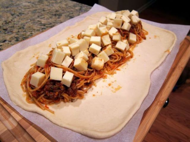 An Easy to Do Spaghetti Bread Recipe