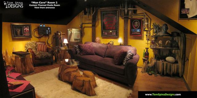 Man Caves That Will Make All Men Envious
