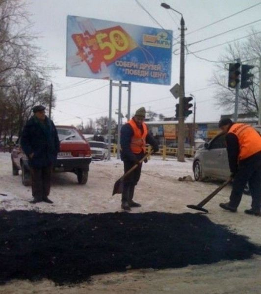 Some Things Only Makes Sense in Russia