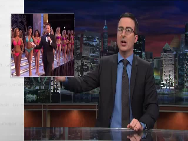 John Oliver's Take on the Miss America Pageant  (VIDEO)