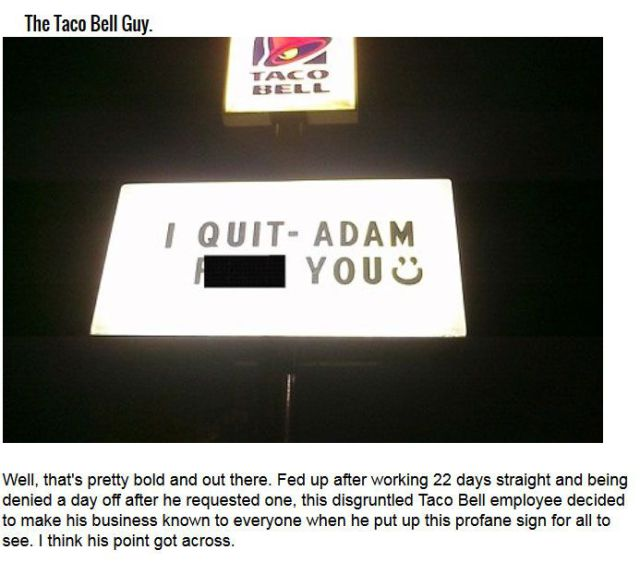Memorable Job Resignations That Are So Legendary