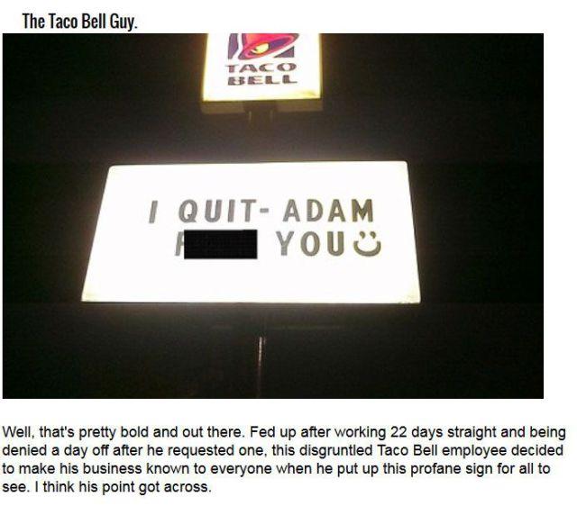 Memorable Job Resignations That Are So Legendary
