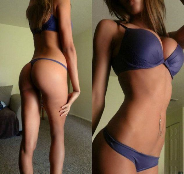 Sexy Girls Show Off in Skimpy Underwear