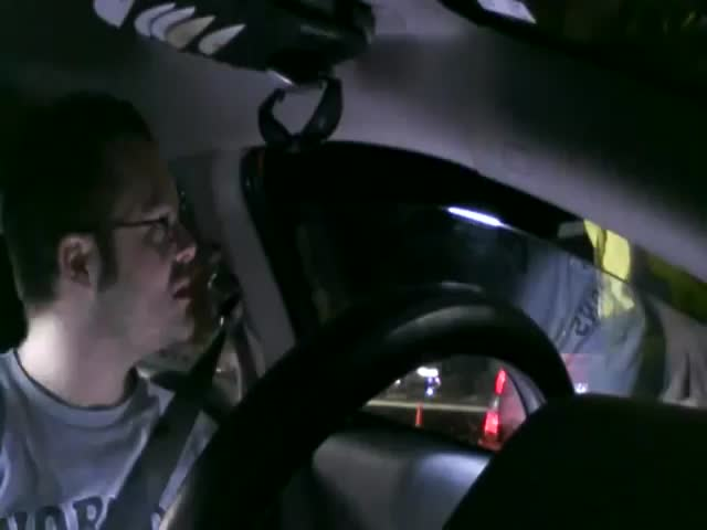 Cop Loses It on Man Being Uncooperative during Roadside Safety Check