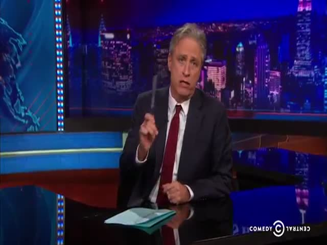 Jon Stewart Shows Us How Dumb Some Congressmen Are