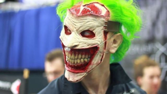 A Joker Mask That Will Scare the Cr#p out of You