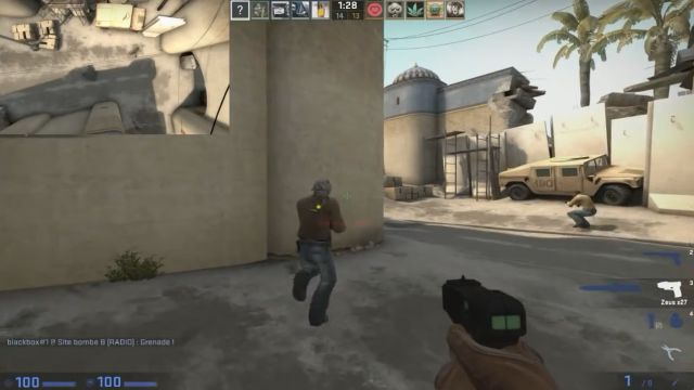 Most Awesome Ninja Defuse in Counter Strike GO