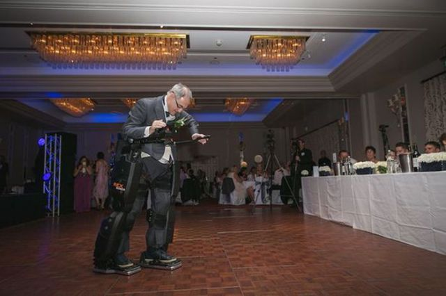 Paralyzed Dad Miraculously Walks His Daughter Down the Aisle