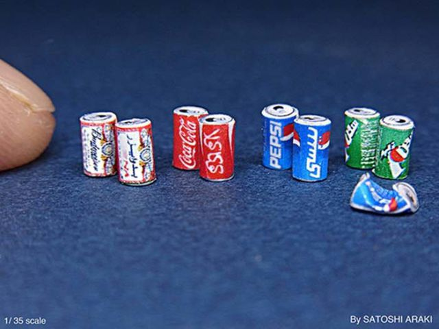 Detailed and Accurate Miniature Versions of Things in Real Life