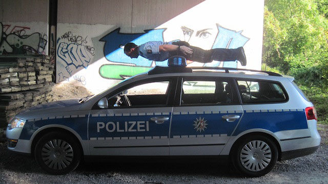 Police Officers Aren't Always Serious