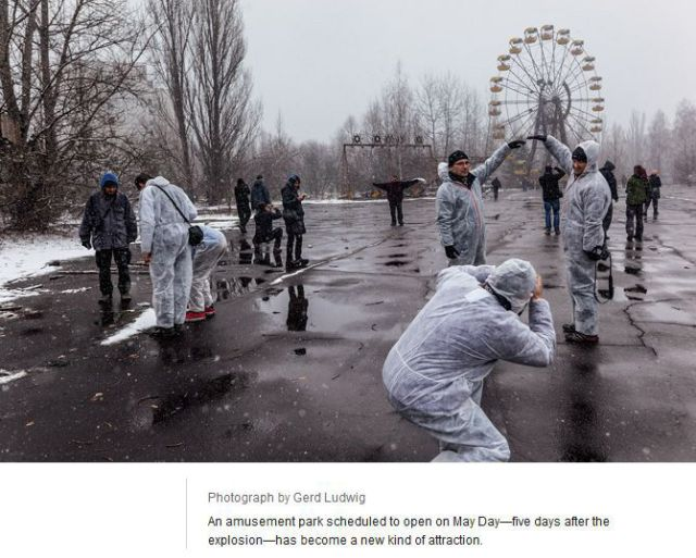 Surprisingly Chernobyl Is Actually a Tourist City