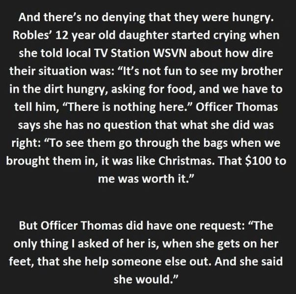 Police Officer Changes the Life of a Thief in an Instant