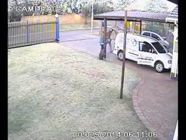 Armed Robbery with Twist Ending  (VIDEO)