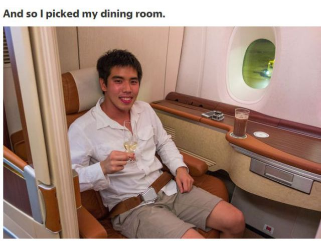 An Airline Seat That Doesn't Come Cheap